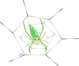 Cartoon_Spider & Web_1