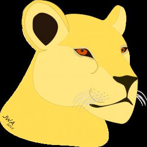 Cartoons_Lioness_1