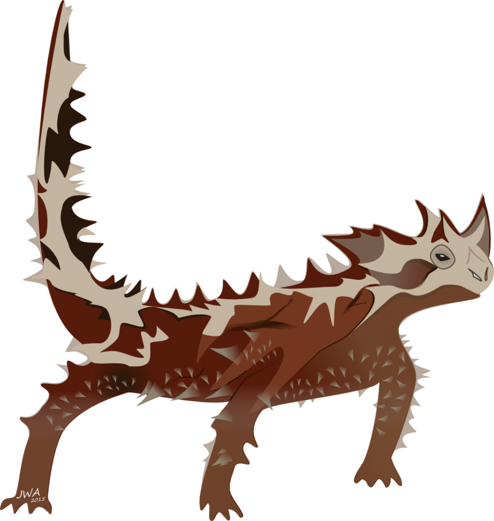 Cartoon_Thorny Devil